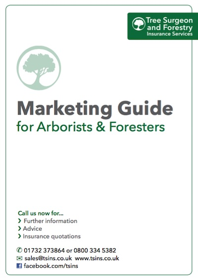 marketing guide for tree surgeons